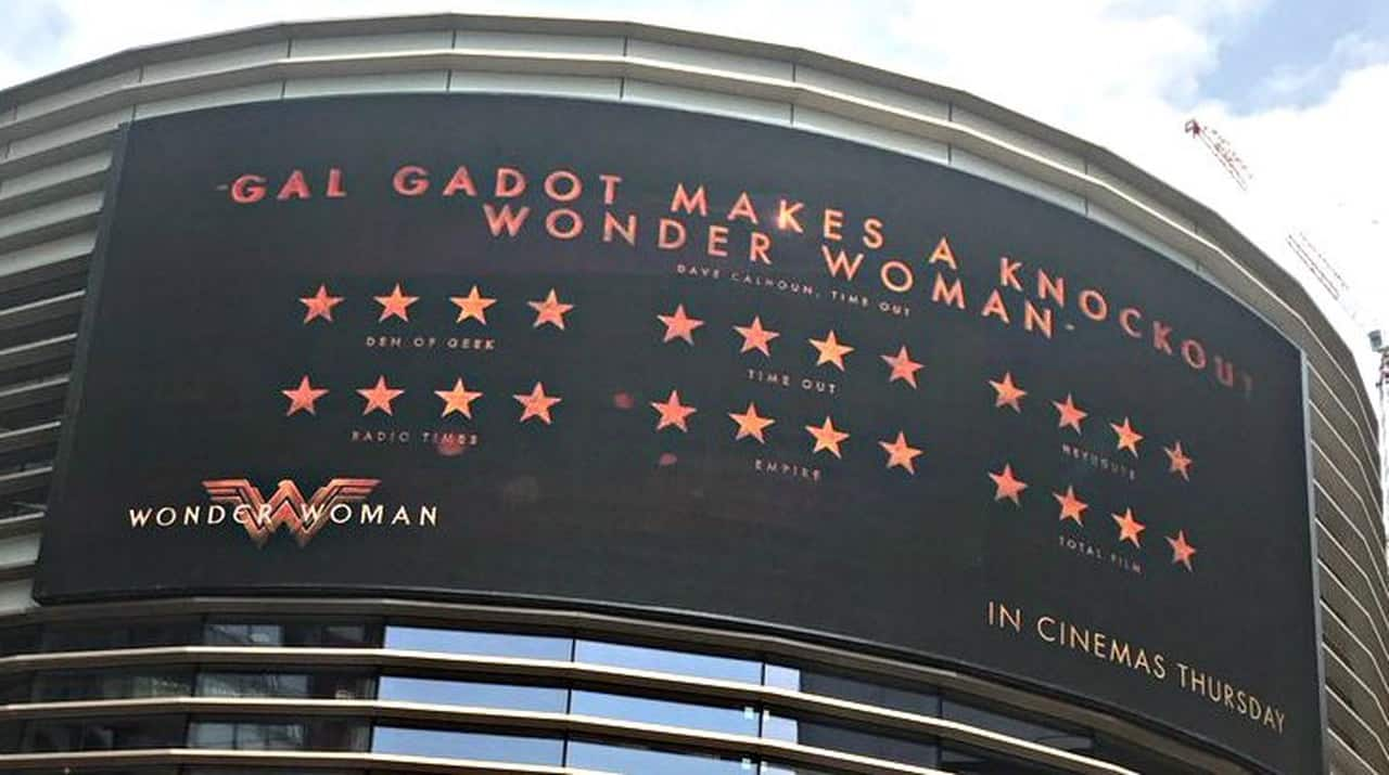 Wonder Woman in lingua originale arriva negli UCI Cinemas