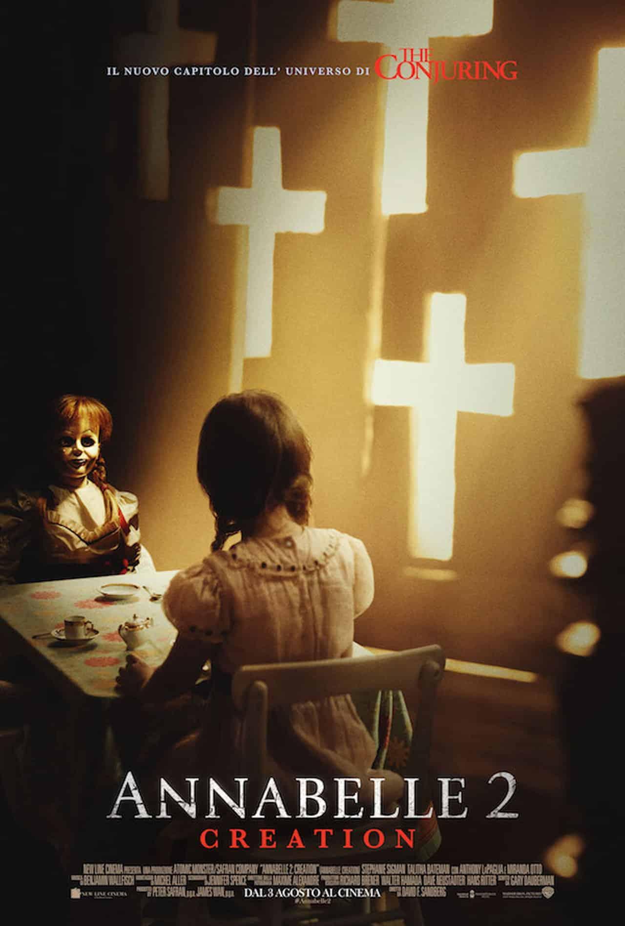 Annabelle 2: Creation – ecco l'alternative poster italiano!