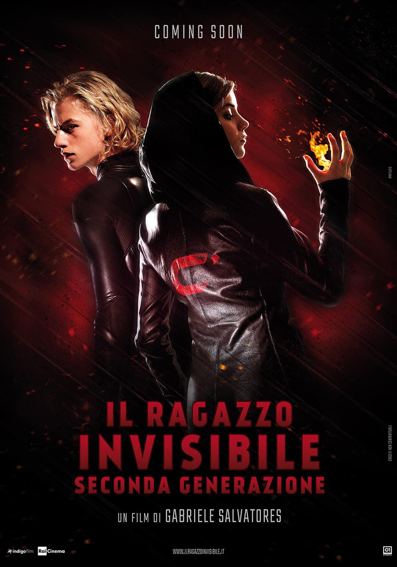 Il Ragazzo Invisibile – Seconda Generazione – il primo teaser poster!