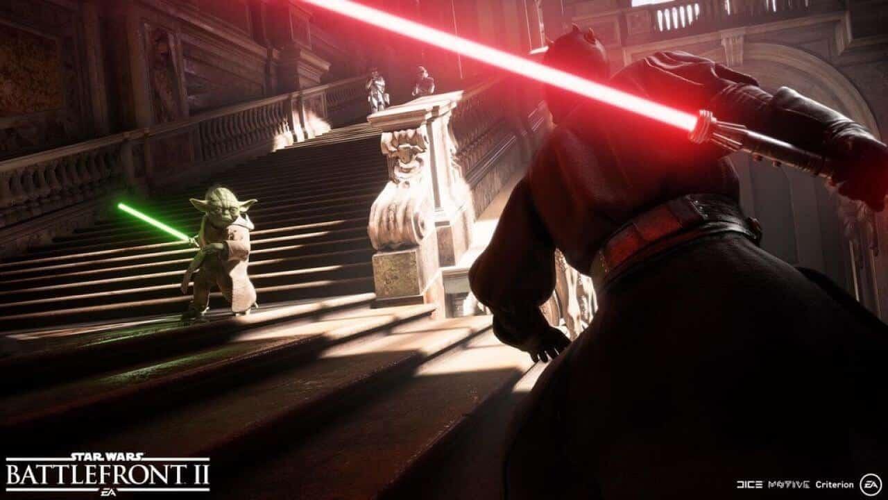 Star Wars Battlefront 2 si mostra nel primo gameplay trailer