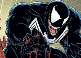 venom spider-man tom holland
