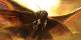 Godzilla King of The Monsters Mothra-