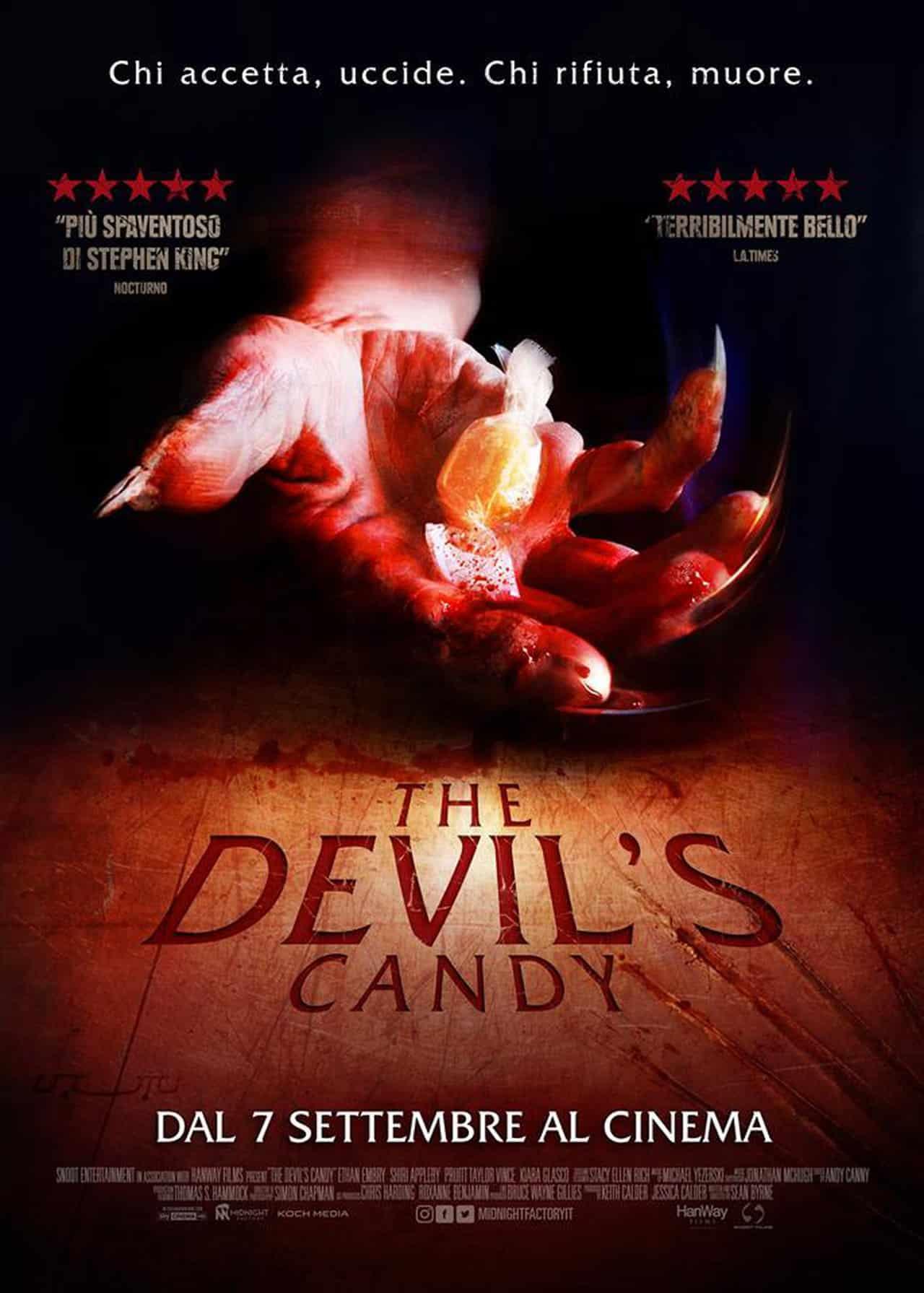 The devil s candy il poster italiano del film di sean byrne - Cinema porta di roma prenotazione ...