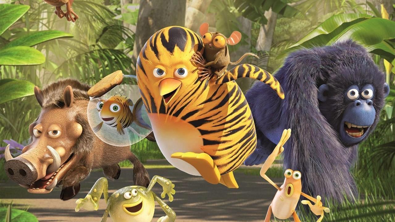 Vita da giungla i personaggi nel poster del film in