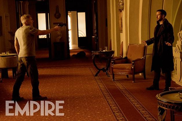 Blade Runner: Ryan Gosling e Harrison Ford insieme sulla cover di Empire!