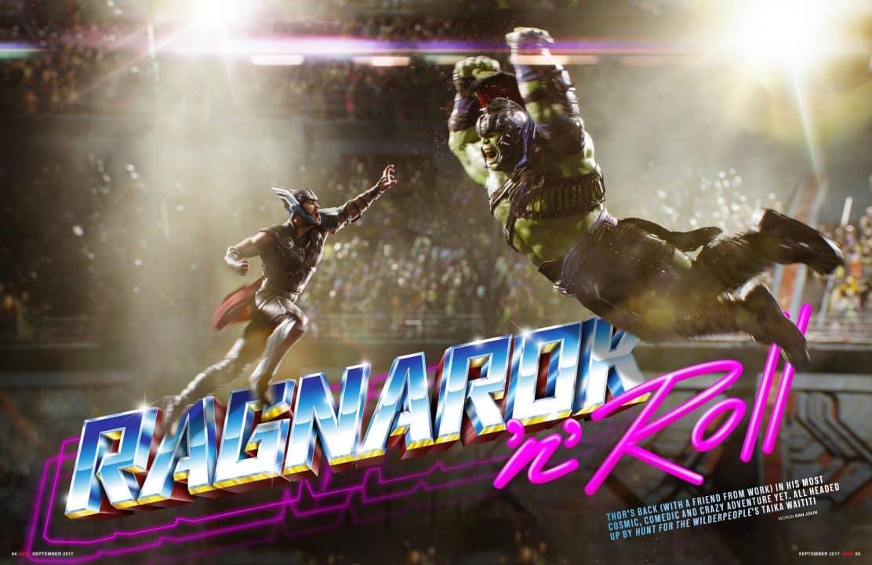 Thor: Ragnarok - Thor e Hulk fanno il loro ingresso nell'arena