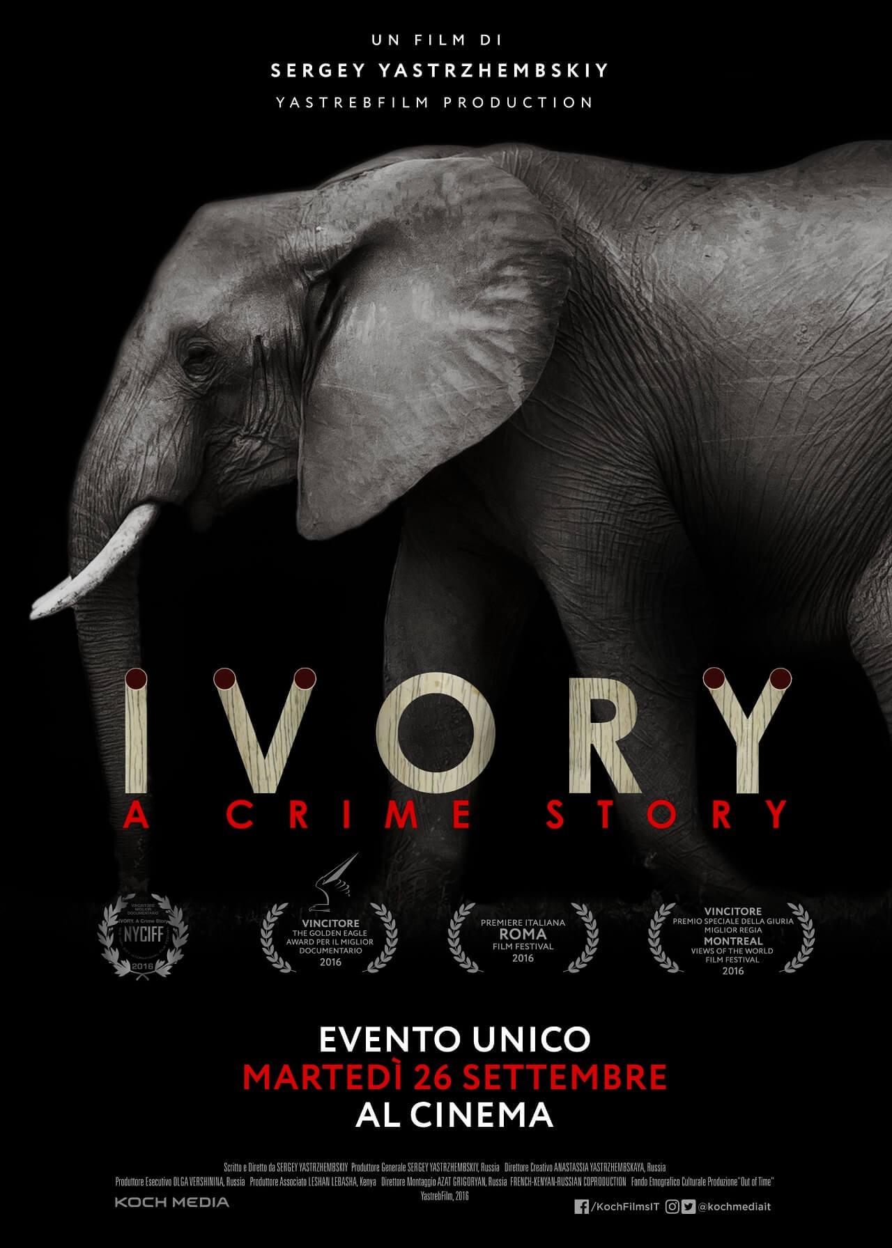 Ivory. A Crime Story