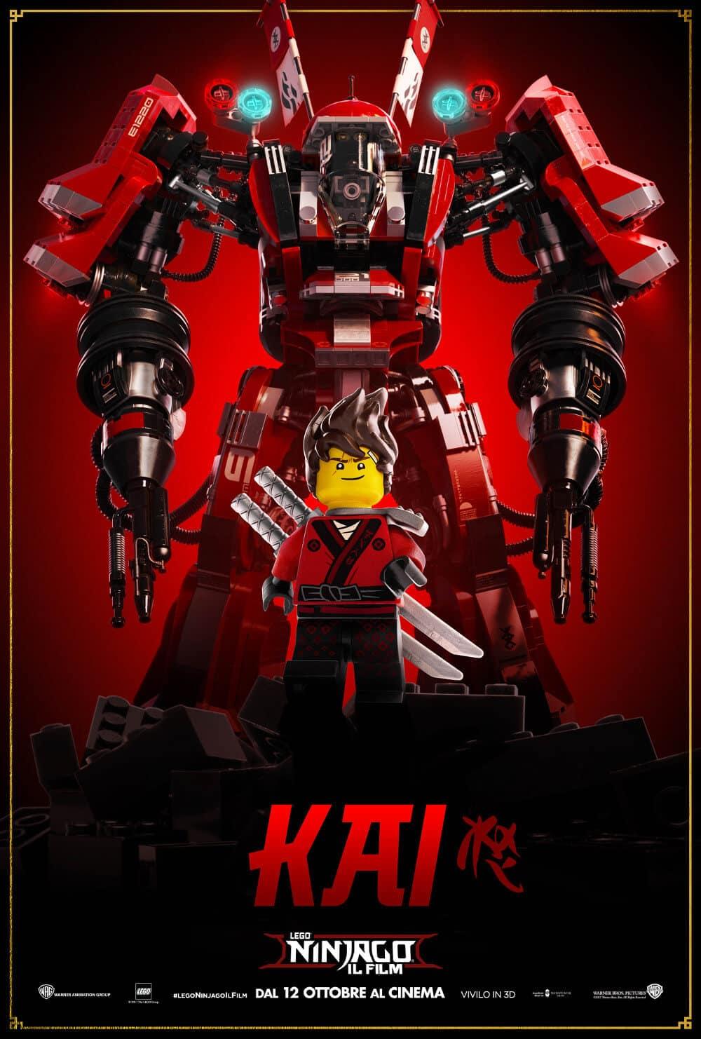 Lego ninjago il film rivelati i coloratissimi mech