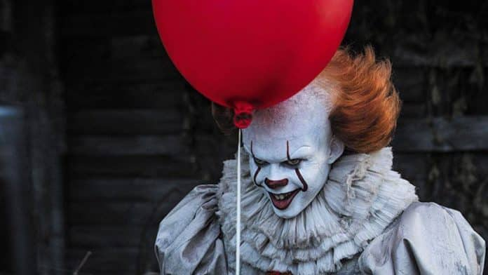 bill skarsgard pennywise it video