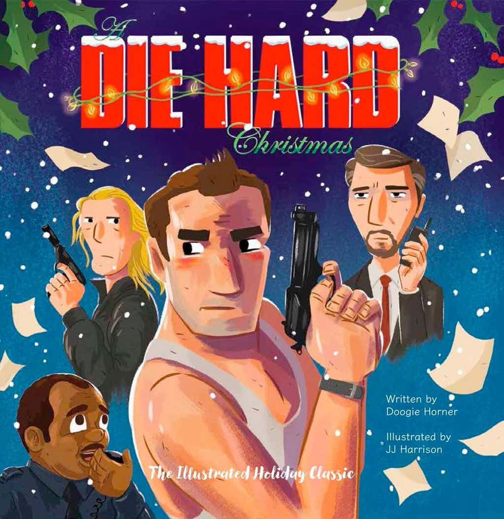 Immagini Natale Hard.Die Hard Il Film Con Bruce Willis Diventa Un Libro Di Natale Foto