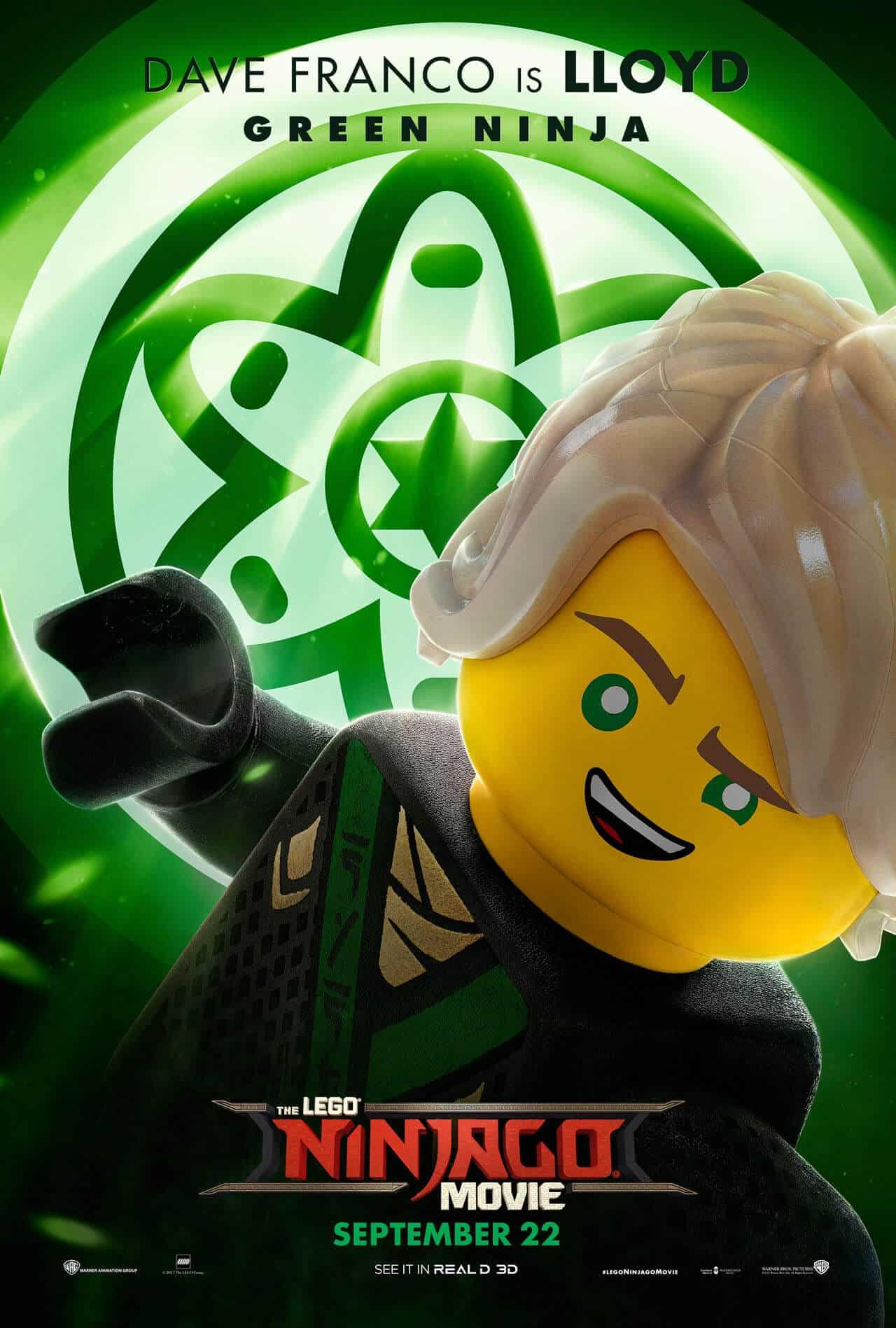 lego ninjago il film character poster 1