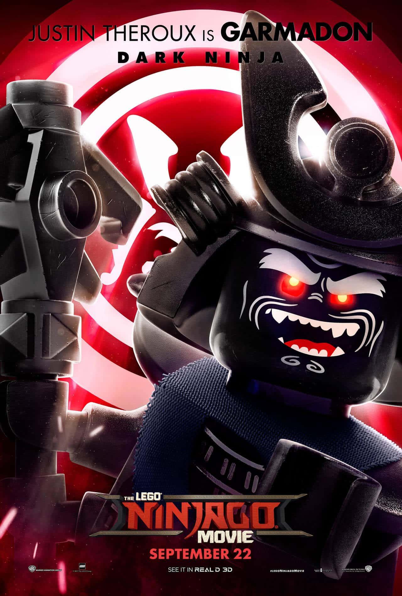 lego ninjago il film character poster 2
