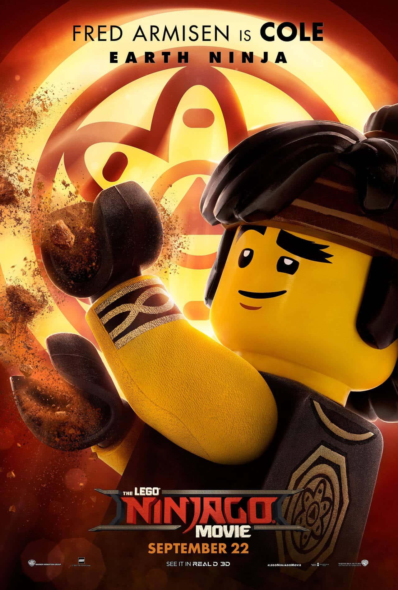 lego ninjago il film character poster 5