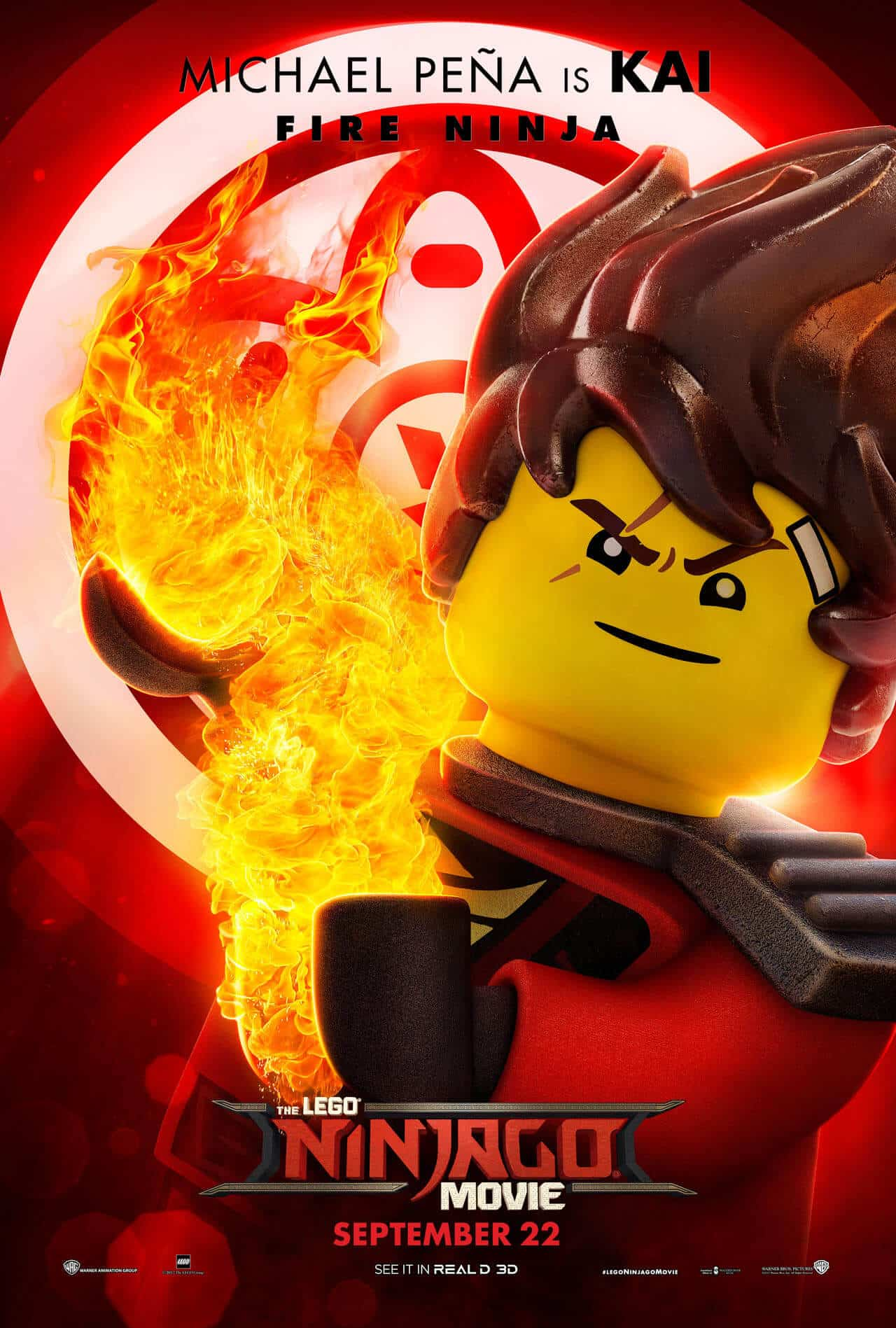 lego ninjago il film character poster 7