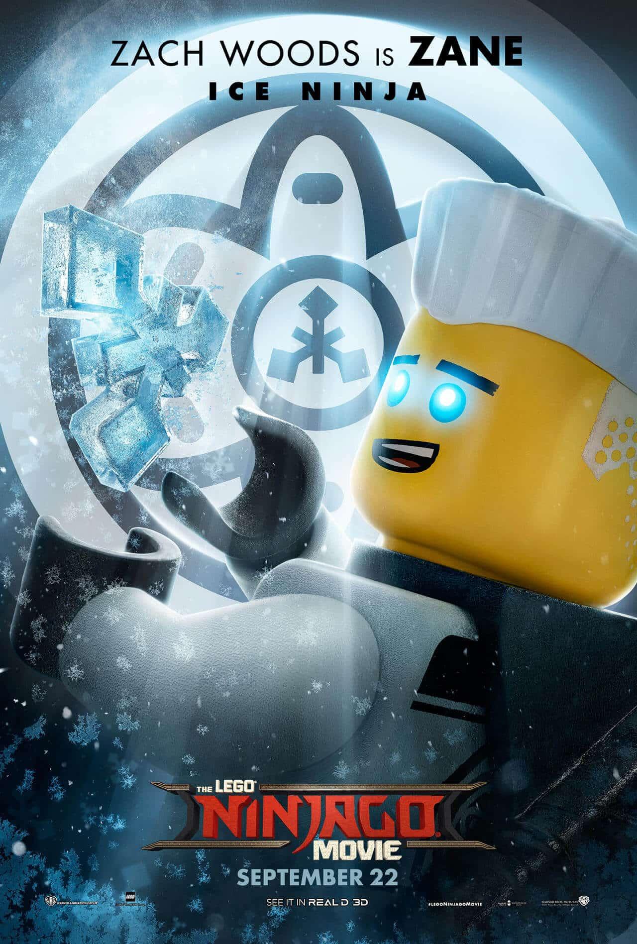 lego ninjago il film character poster 8