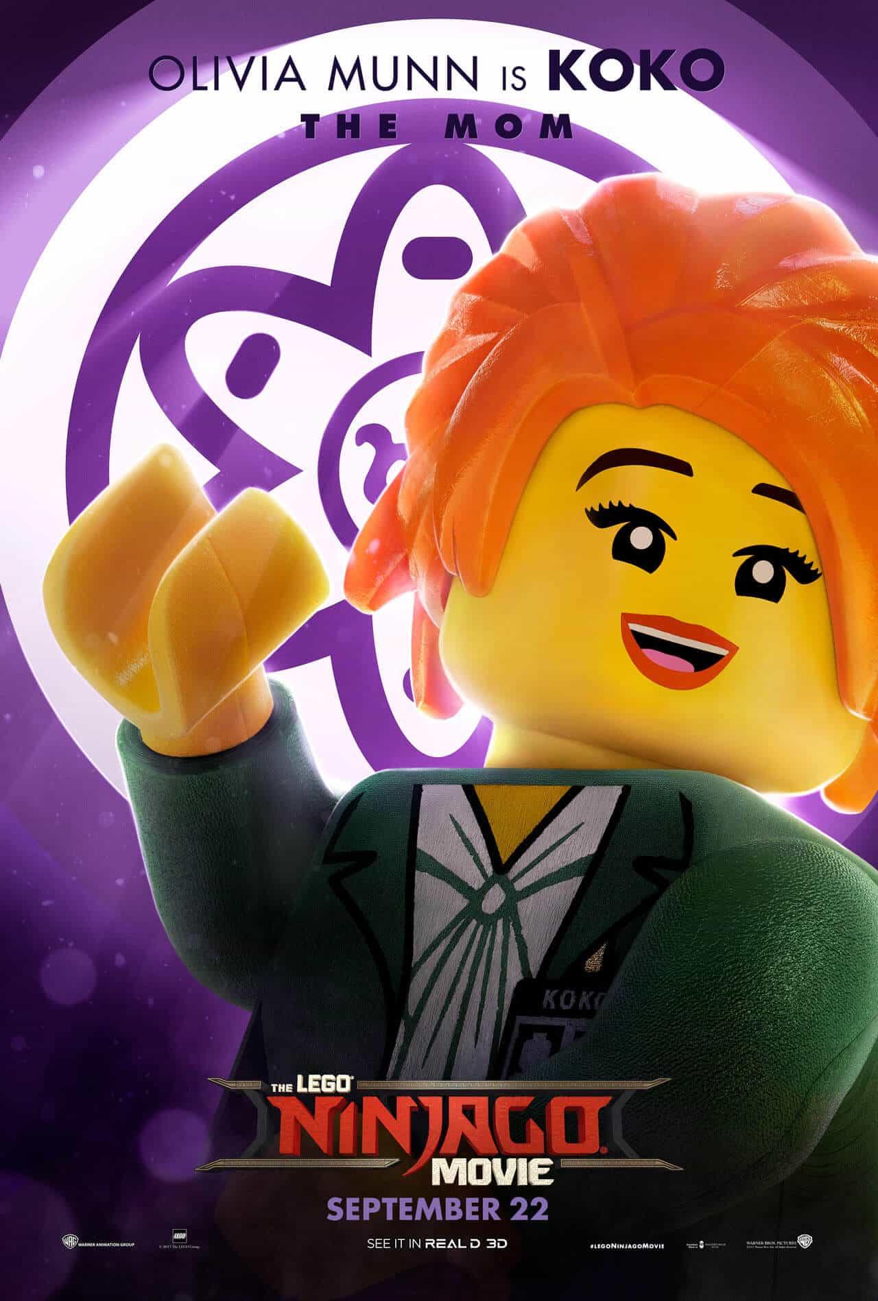 lego ninjago il film character poster 9
