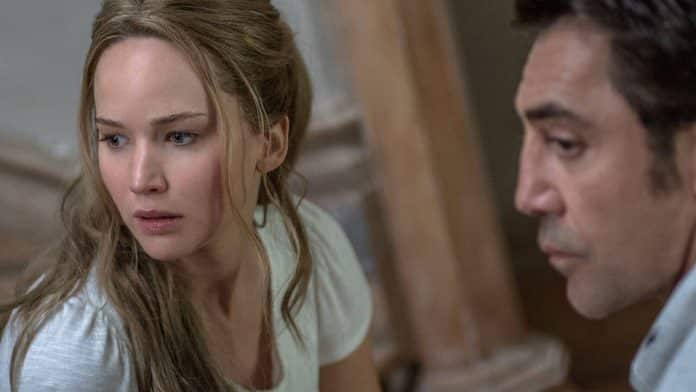 madre! jennifer lawrence aronofsky