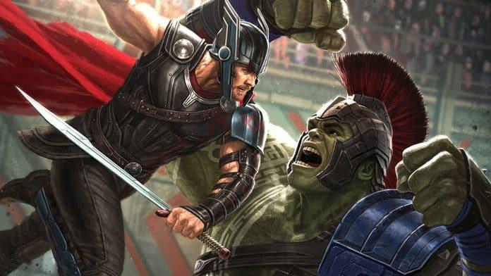 thor: ragnarok mark ruffalo scontro