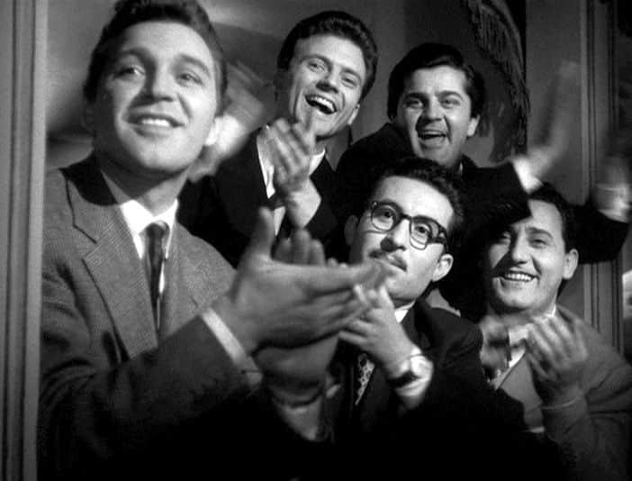 Risultati immagini per i vitelloni Fellini