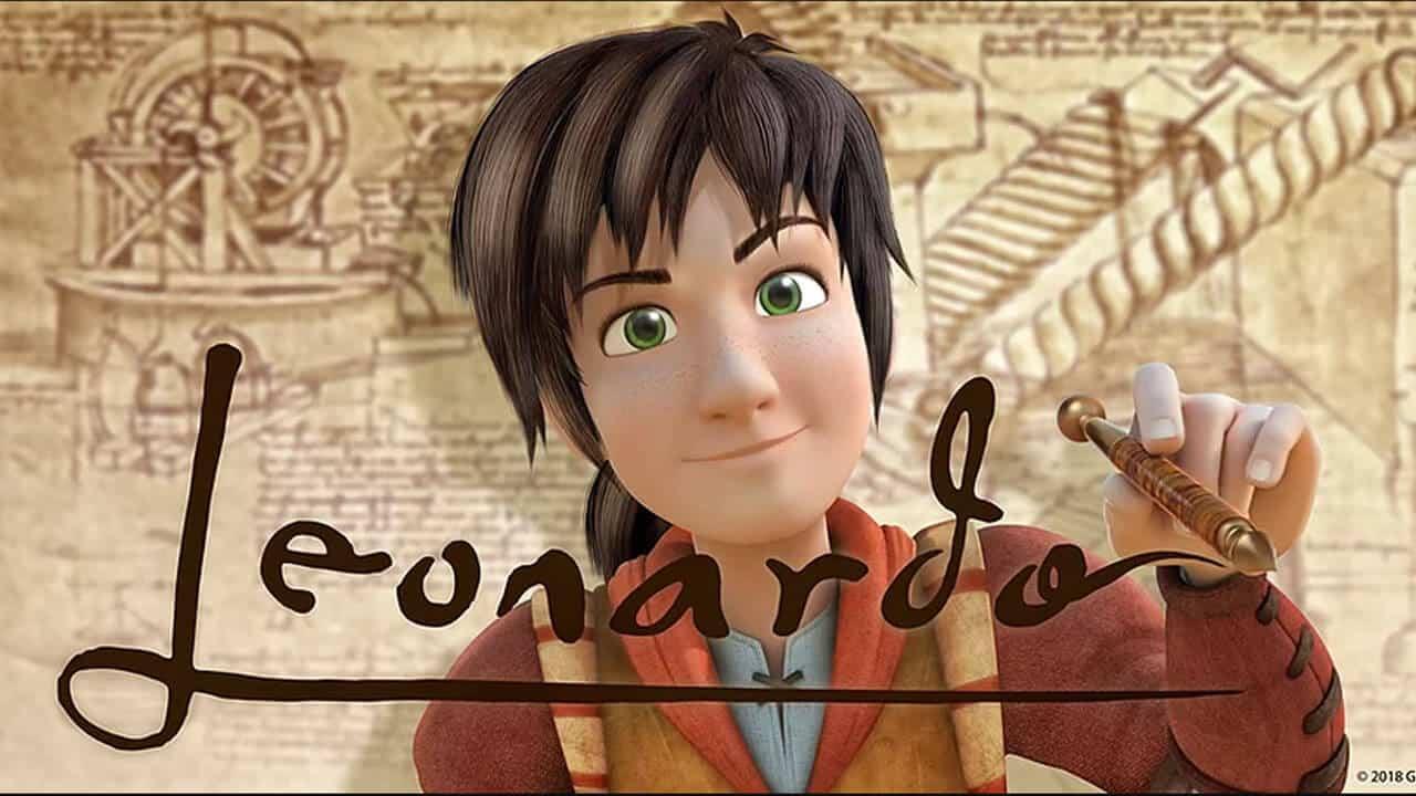 Leo da vinci missione monna lisa trailer del film