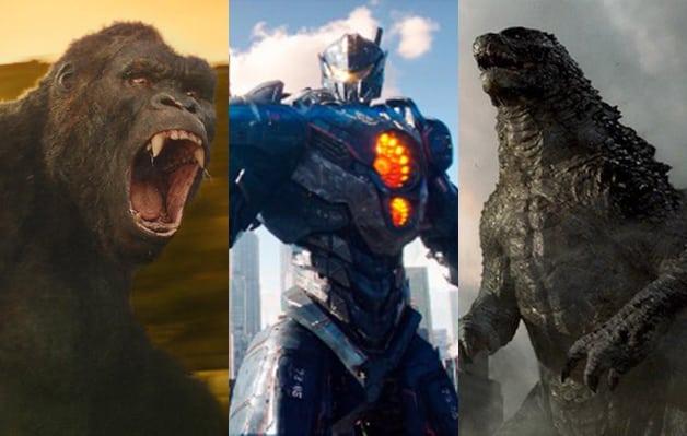 Pacific Rim King Kong Godzilla