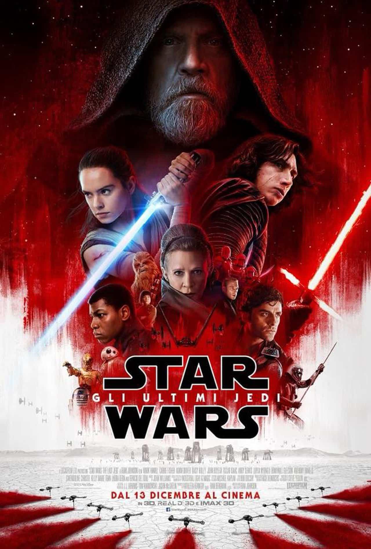 Star Wars - Gli Ultimi Jedi poster