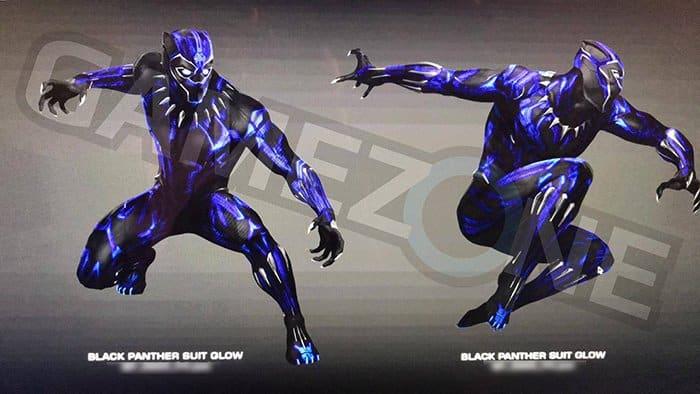 black panther costume luminoso
