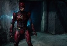 justice league, the flash, cinematographe