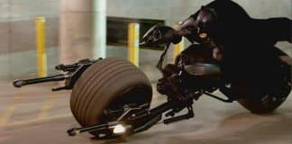 Justice League Batcycle