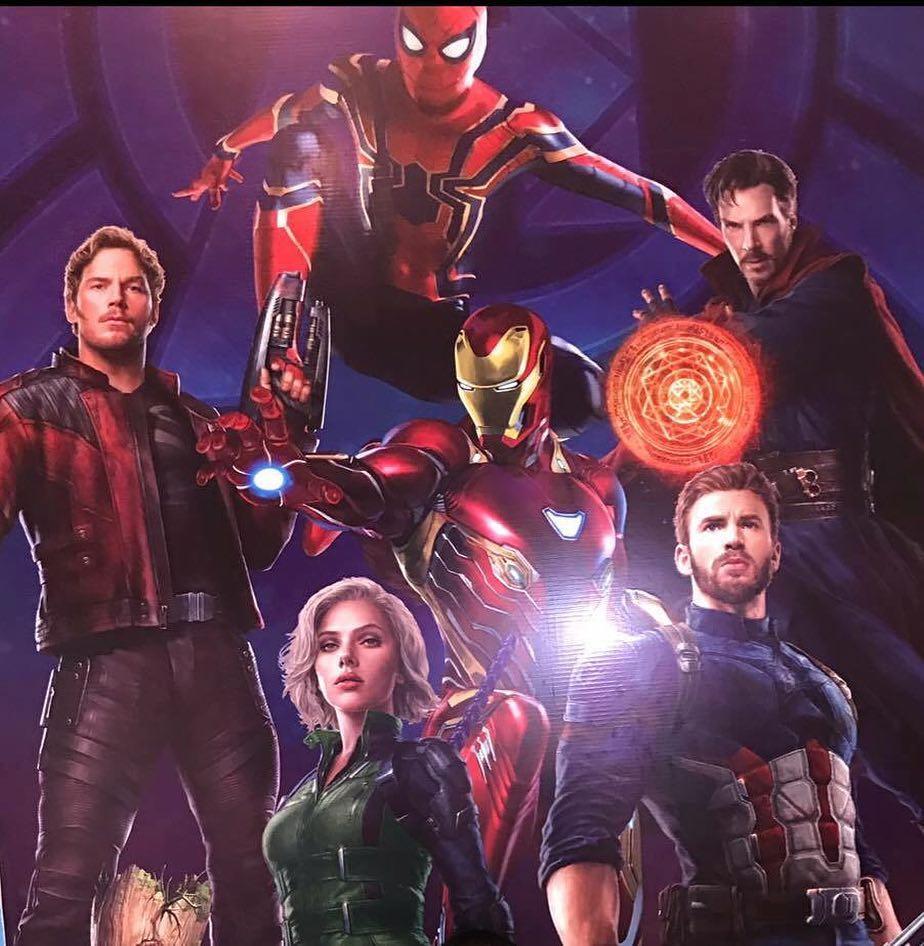 avengers: infinity war promo art