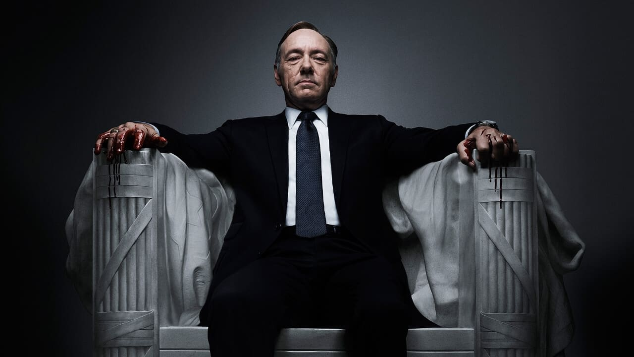 Kevin Spacey licenziato da House of Cards, cancellato il biopic Gore