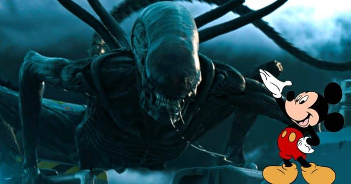 Alien Disney, Cinematographe