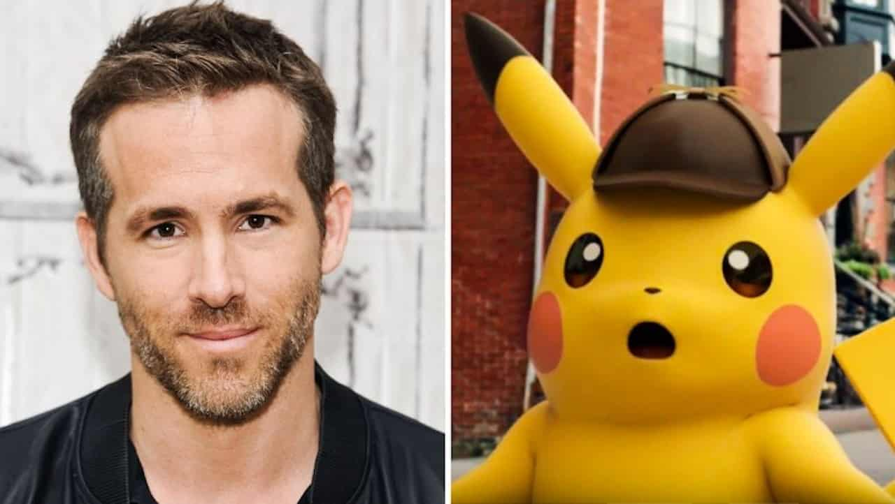 Ryan Reynolds a caccia di Pokemon nel film Detective Pikachu