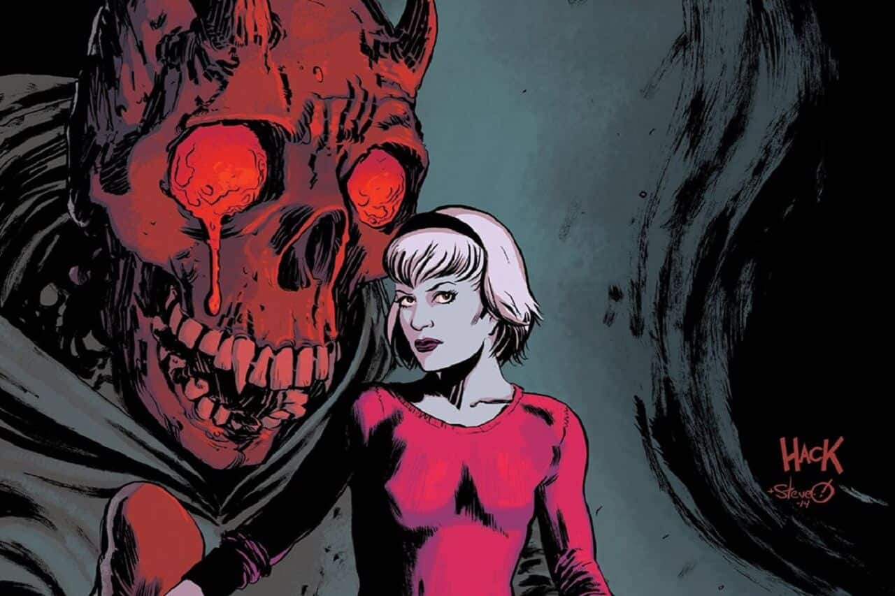 CHILLING ADVENTURES OF SABRINA returns to comic shops on July 5th as Sabrinas father Edward Spellman rises from the dead inhabiting the body of the newly