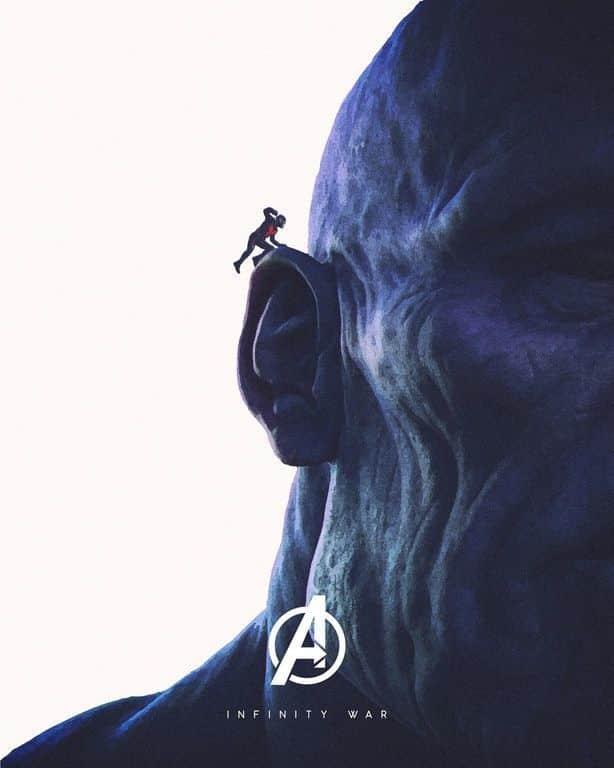 Ant-Man Thanos Cinematographe