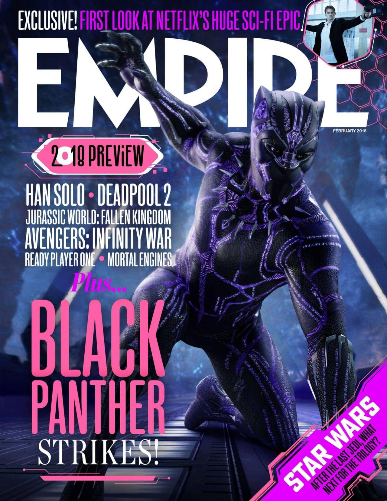black panther, empire, cinematographe