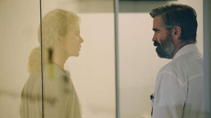 the killing of a sacred deer, cinematographe