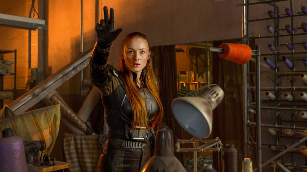X-Men: Dark Phonix, Sophie Turner nella fiammeggiante cover di Entertainment Weekly