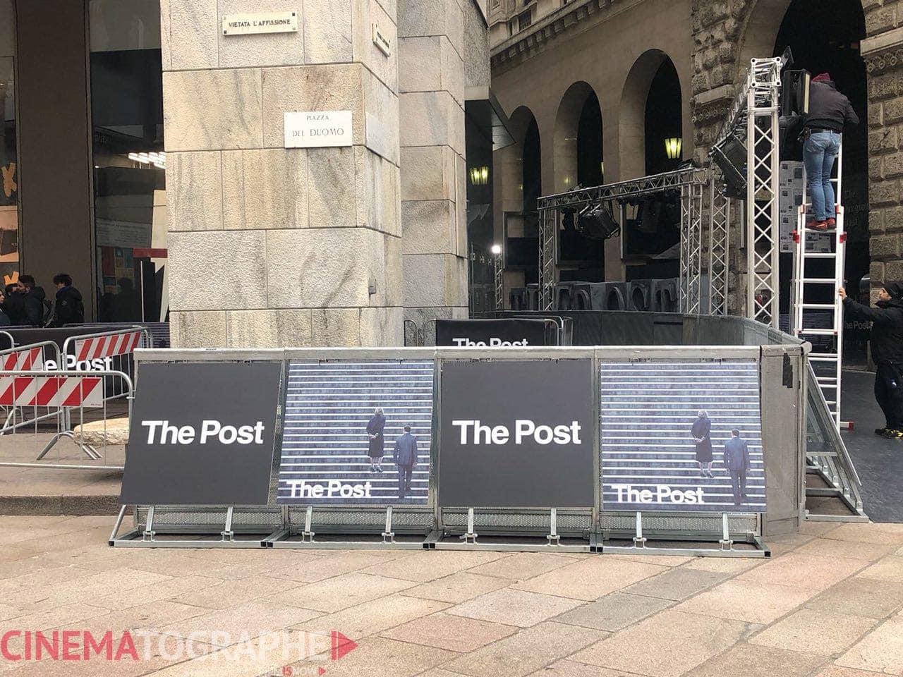 the post red carpet milano cinematographe