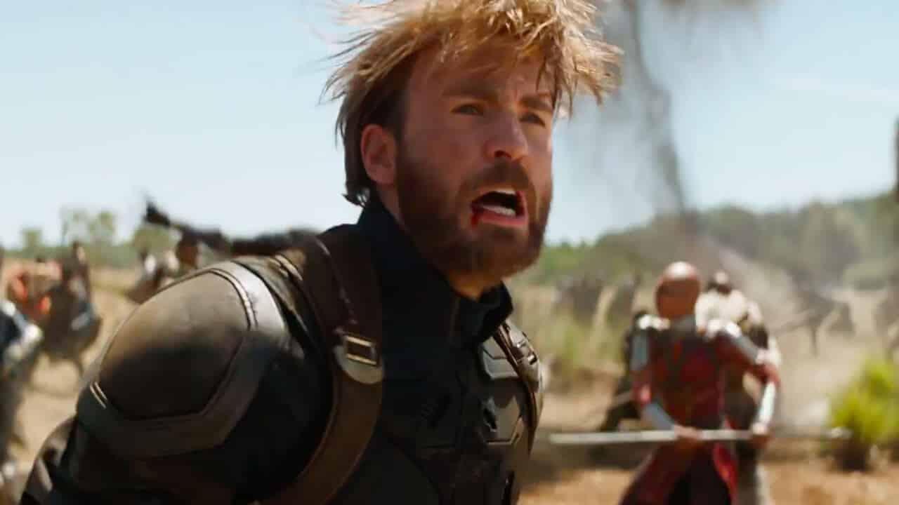 Chris Evans sulla barba di Captain America in Avengers: Infinity War