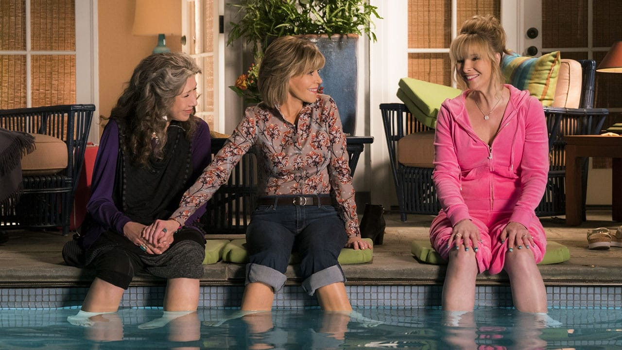 Grace and Frankie con Lisa Kudrow
