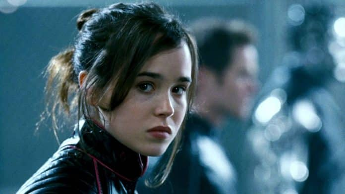 kitty pryde, ellen page, cinematographe