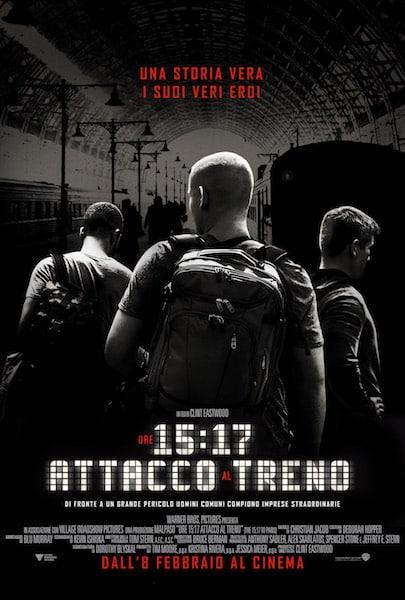 ore 15:17 - attacco al treno, poster, cinematographe