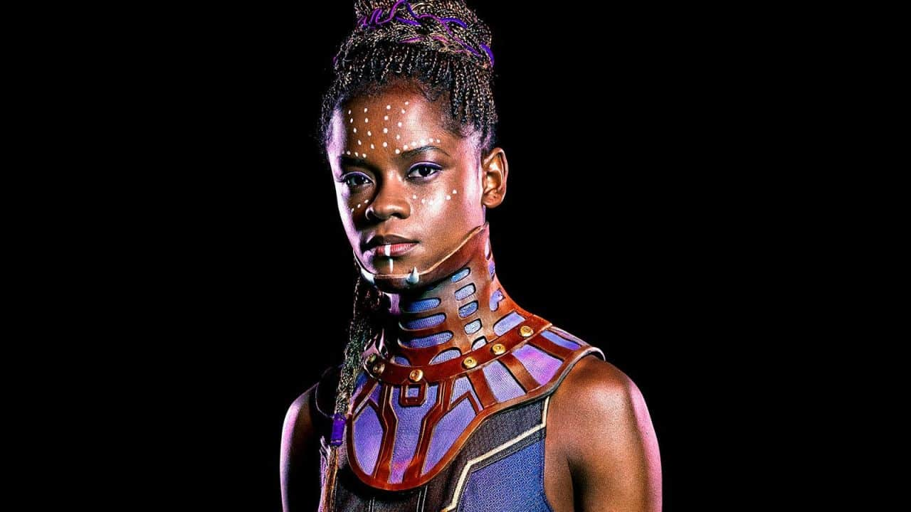 letitia wright, black panther, cinematographe