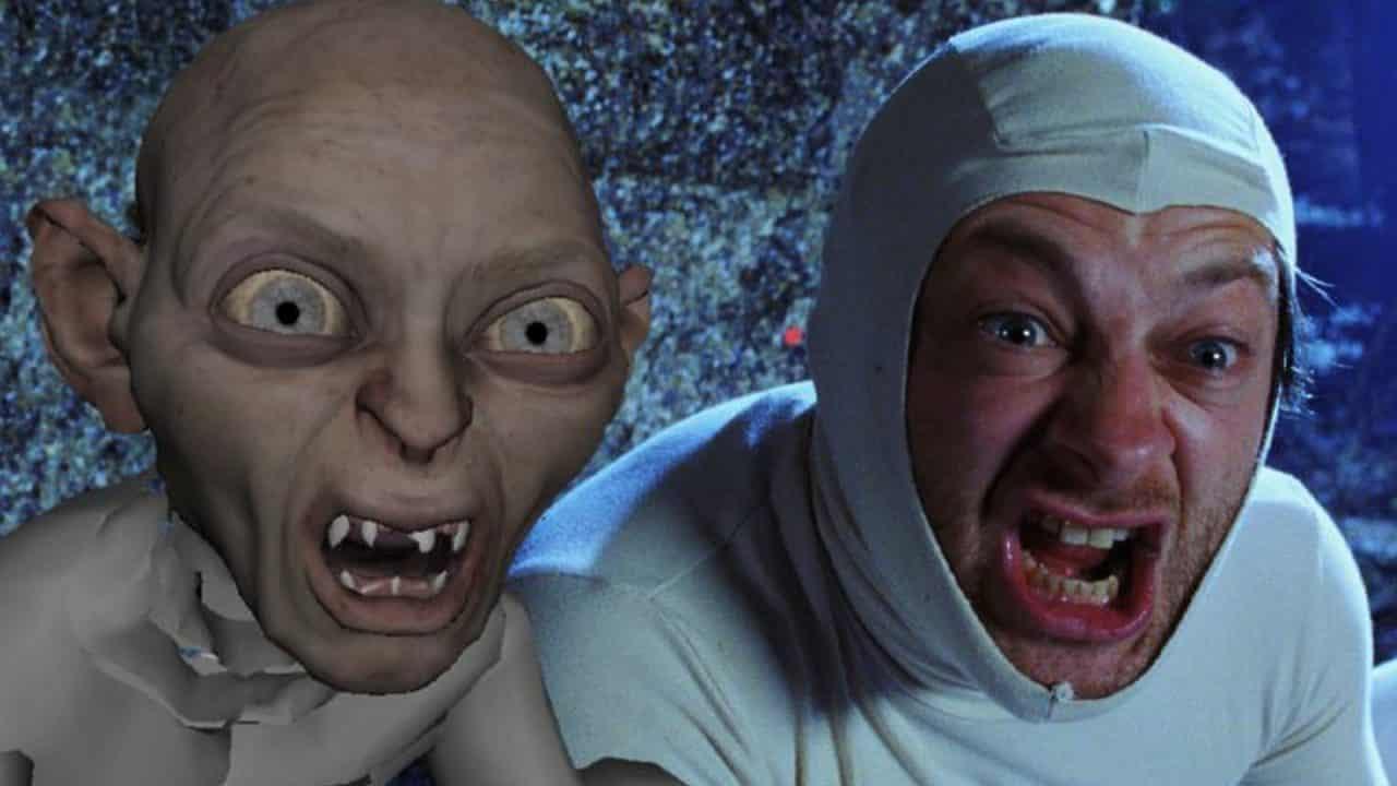 Andy Serkis Il Signore degli Anelli Cinematographe