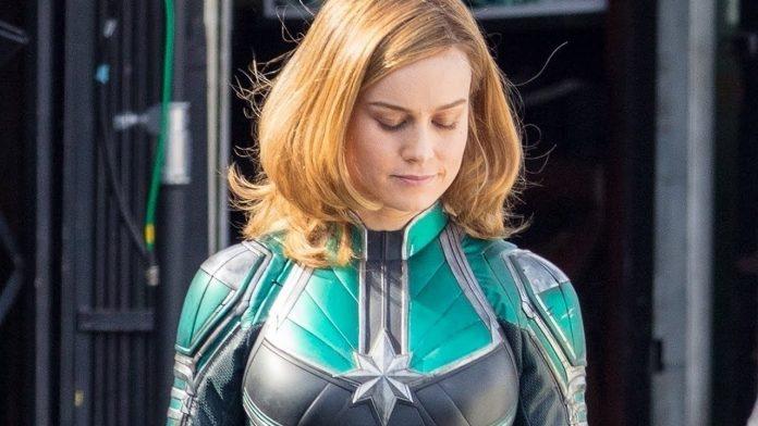 Captain Marvel Brie Larson Cinematographe