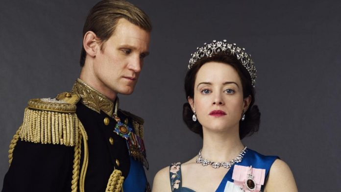 the crown, claire foy, matt smith, cinematographe