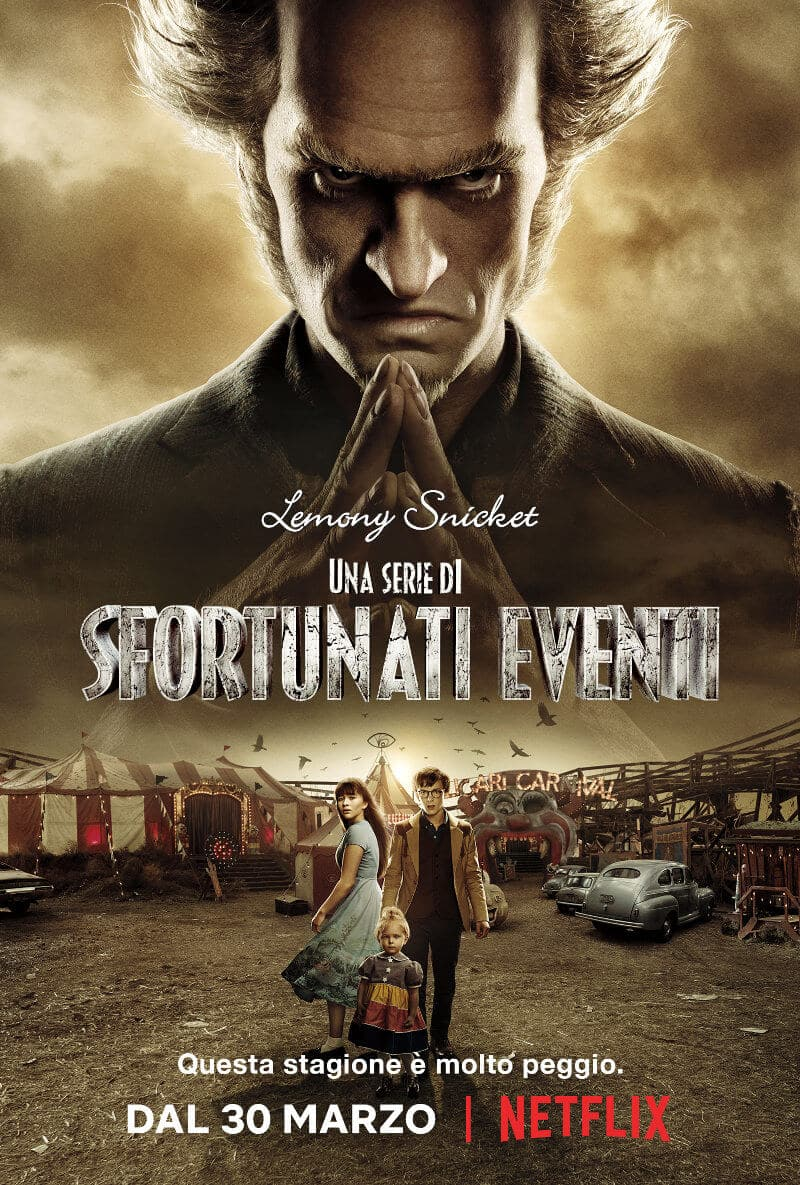 una serie di sfortunati eventi stagione 2 trailer