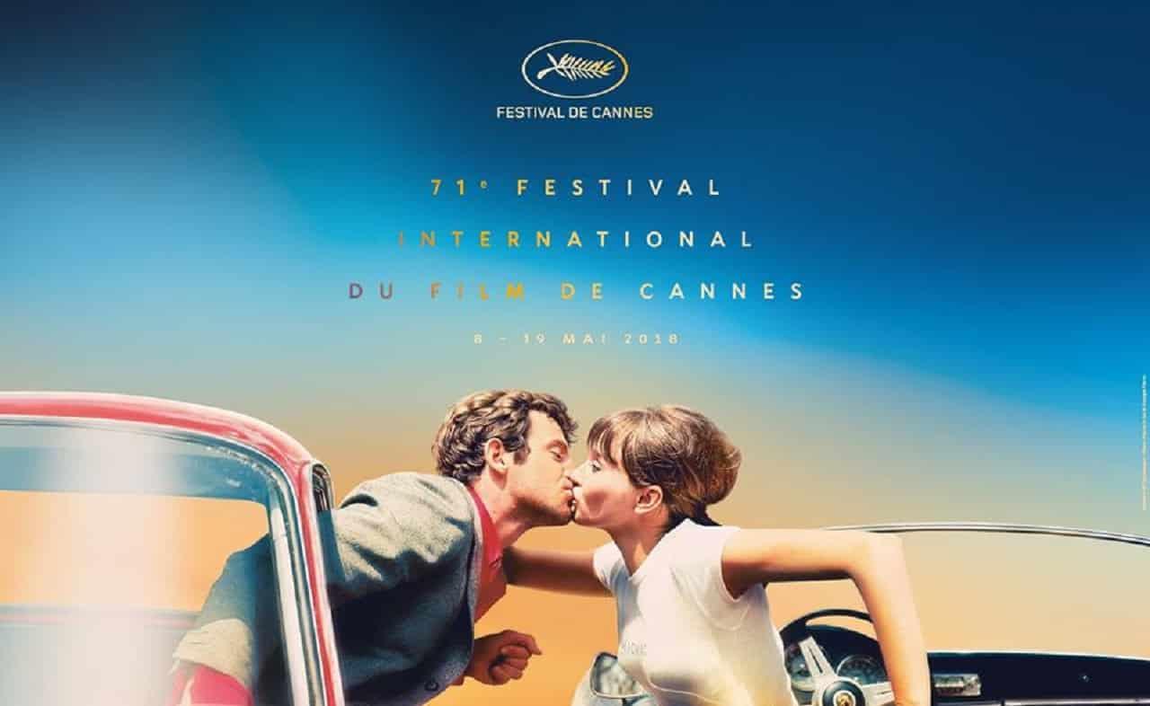 Festival di Cannes - Il poster della 71ma edizione cita Godard
