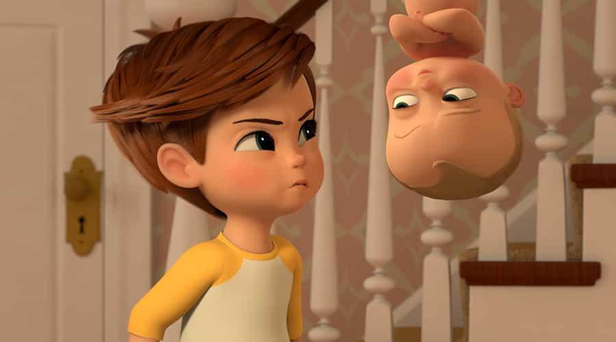 Baby boss nel nuovo video si parla di pannolini al cinema con i